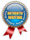 Authentic writing